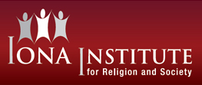 The logo of the Iona Institute.