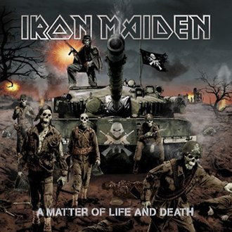 A Matter of Life and Death (album) - Image: Iron Maiden A Matter Of Life And Death