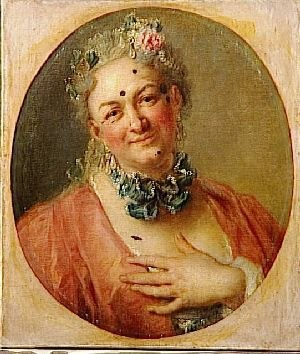 Haute-contre - Jélyotte in the title-role of Rameau's Platée, by Charles-Antoine Coypel c.1745