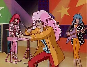Jem (TV series) - Image: Jem music video typical