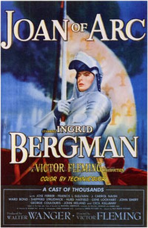 Joan of Arc (1948 film) - Image: Joan of arc (1948 film poster)