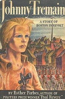 <i>Johnny Tremain</i> 1943 American historic novel