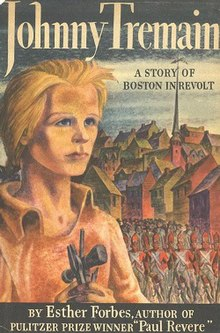johnny tremain  johnny tremain cover jpg