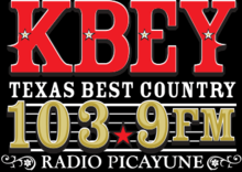 KBEY RadioPicayune103.9 logo.png