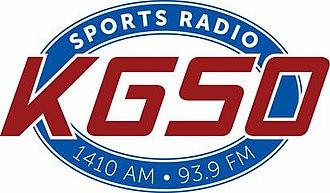 KGSO - Image: KGSO Sports Radio 1410 93.9 logo