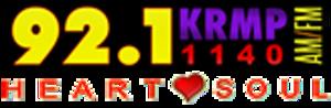 KRMP - Image: KRMP 92.1 1140Heart Soul logo