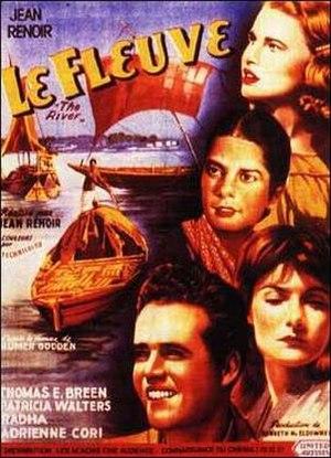 The River (1951 film) - Film poster