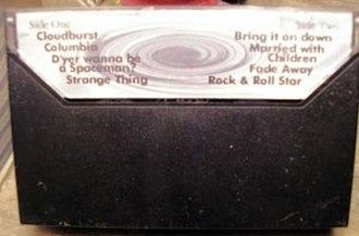 Live Demonstration - Back of an original Live Demonstration cassette