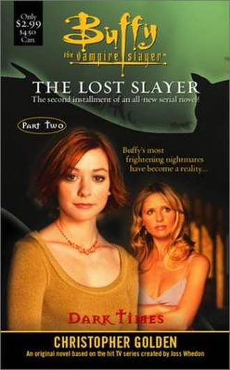 The Lost Slayer - First edition cover