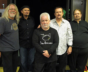 Love Song (band) - Love Song in 2010. (L-R) Truax, Coomes, Mehler, Girard, Wall