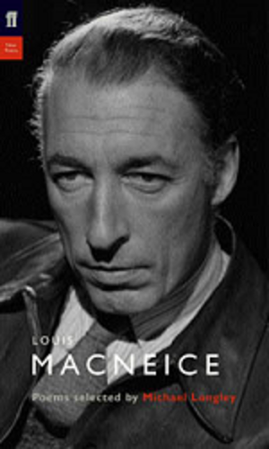 Louis MacNeice - MacNeice on the cover of Selected Poems, edited by Michael Longley (1988)