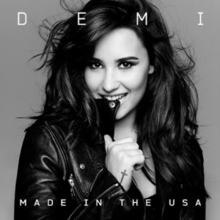 Made In The Usa Artwork Png Single By Demi Lovato
