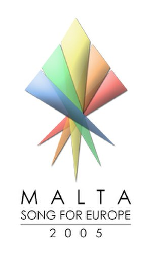 Malta in the Eurovision Song Contest 2005 - Malta SFE 2005 Logo