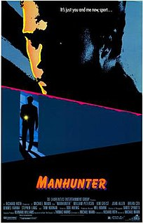 <i>Manhunter</i> (film) 1986 film by Michael Mann