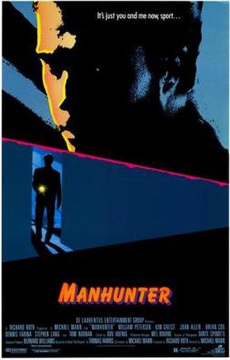 Manhunter (film) - Theatrical release poster
