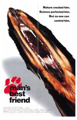 Man's Best Friend (1993 film) - Theatrical release poster
