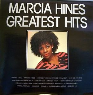 Greatest Hits (Marcia Hines album) - Image: Marcia Hines Greatest Hits