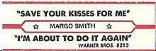 Margo Smith - Ŝparu Your Kisses For Me.jpg