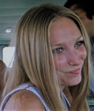 Sally Hardesty - Marilyn Burns portraying Sally in The Texas Chain Saw Massacre (1974)