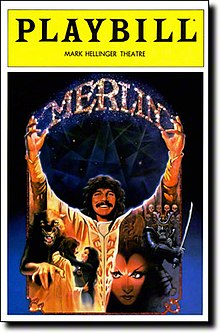 Merlin musical Playbill cover.jpg