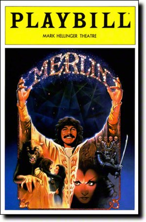 Merlin (musical) - Broadway Playbill cover