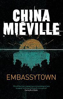 <i>Embassytown</i> novel by China Miéville