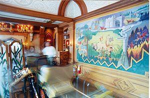 Mr. Toad's Wild Ride - The interior.