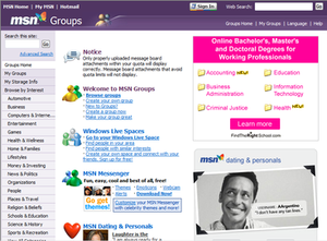 MSN Groups - Image: Msngroups