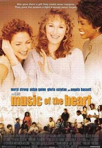 Music of the Heart - Theatrical film poster
