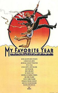 <i>My Favorite Year</i> 1982 film directed by Richard Benjamin