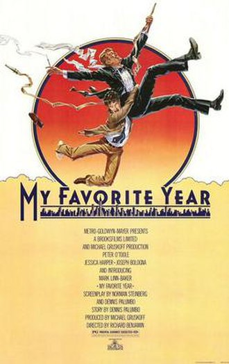 My Favorite Year - Theatrical release poster by John Alvin