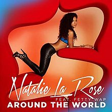 Natalie La Rose featuring Fetty Wap — Around the World (studio acapella)