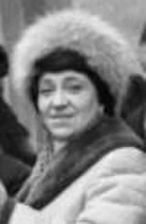 Nina Alexandrovna Aleshin - circa 1980