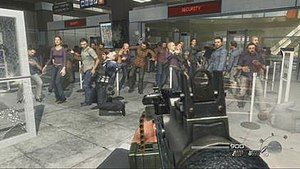 A screenshot taken from Call of Duty: Modern W...