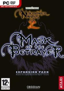 <i>Neverwinter Nights 2: Mask of the Betrayer</i> 2007 video game