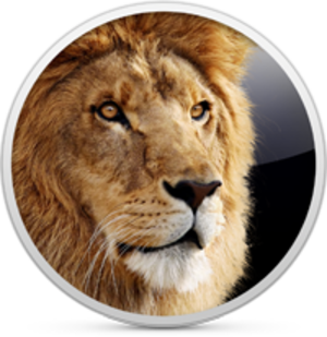 Mac OS X Lion - Image: OS X Lion icon