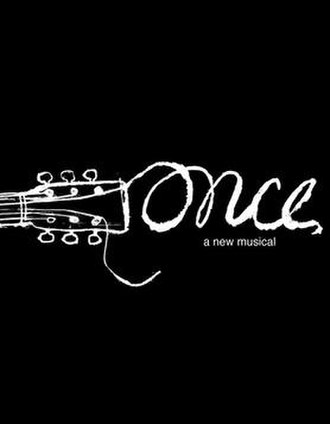 Once (musical) - Broadway promotional poster