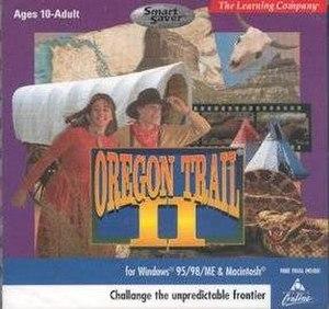 Oregon Trail II - Image: Oregon Trail II cover