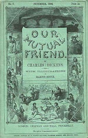 Our Mutual Friend - Cover of serial No. 8, December 1864