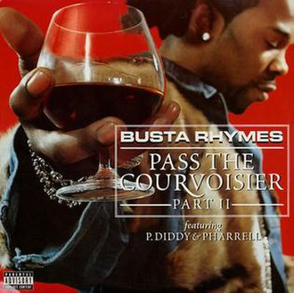 Busta Rhymes featuring P. Diddy & Pharrell — Pass the Courvoisier, Part II (studio acapella)