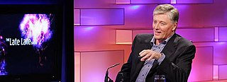 Pat Kenny on the new set as launched in September 2007.