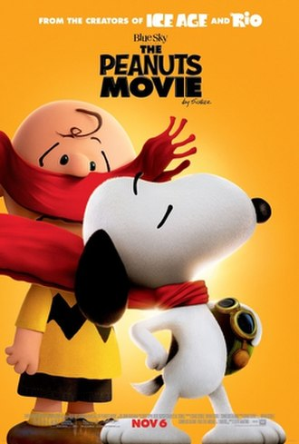 The Peanuts Movie - Theatrical release poster