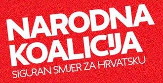 People's Coalition (Croatia) - Image: People's Coalition (Croatia) logo