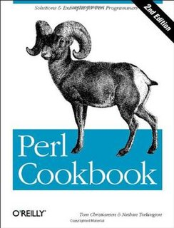 <i>Perl Cookbook</i> book by Tom Christiansen