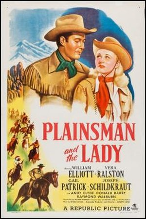 Plainsman and the Lady - Theatrical release poster