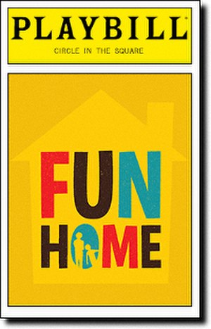 Fun Home (musical) - Original Broadway Playbill