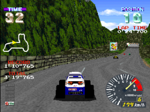 Ridge Racer (video game) - Pocket Racer; a version featuring buggies.
