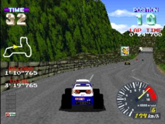 Ridge Racer (video game) - Pocket Racer; a version featuring buggies.