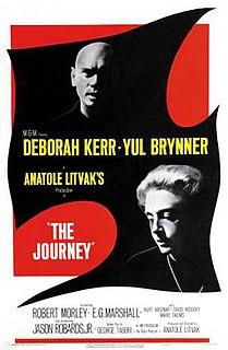 <i>The Journey</i> (1959 film) 1959 American drama film by Anatole Litvak