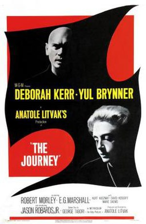 The Journey (1959 film) - Theatrical release poster